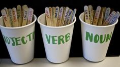 Nouns, Verbs and Adjectives Lesson Plan for Years 2,3,4 - Australian Curriculum Lessons
