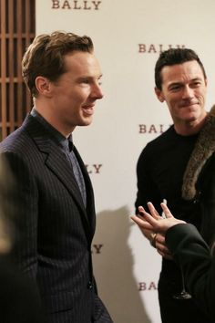 Benedict Cumberbatch and Luke Evans