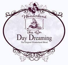 Wonderland Tea Label