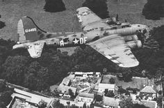 Boeing B-17F-10-BO Flying Fortress 41-24485 Memphis Belle Captain Robert K. Morgan assigned to the 91st Bombardment Group (Heavy) 324th Bomb Squadron (Heavy) (U.S. Air Force) BFD