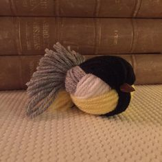 Great tit – Talgoxe | Crochet Millan