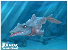 Oh my gosh yes! I finally got it Hungry shark evolution. This is my photo.