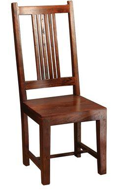 "Provence Dining Chair   Provence Dining Chair  Sheesham  18"" W x 18"" D x 44"" H  Finish/Color(s): Dark Oak"