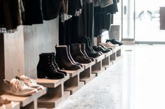 Et Vous in store Karen Walker, Fashion Boutique, Shoe Rack, Leather Boots, Footwear, Store, Inspiration, Shopping, Biblical Inspiration