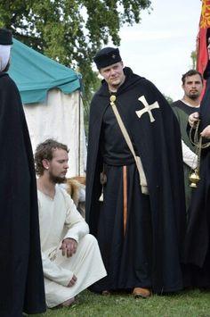 Hospitaller Knight Brother, Reenactment ,early 13.century (germany) Johanniter, Malteser, Hospitaliter