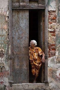 Residents of Old Havana