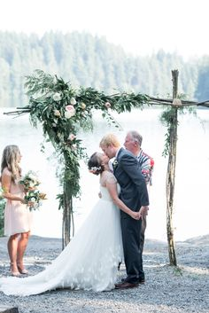 Darling Summer Camp Forest Wedding   Christie Graham Photography