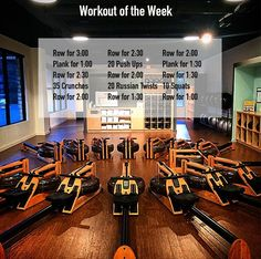 Regular use of a rowing machine does not only give you a fantastic cardio workout, it also builds muscle in almost all the major muscle groups. Rower Workout, Gym Workouts, At Home Workouts, Studio Workouts, Cardio Hiit, Week Workout, Workout Plans, Workout Gear, Treadmill