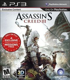 Assassin's Creed III Overview    The American Colonies, 1775. It's a time of civil unrest and political upheaval in the Americas. As a Native American assassin fights to protect his land and his people, he will ignite the flames of a young nation's revolution. Assassin's Creed III takes you back to the American Revolutionary War, but not the one you've read about in history books.