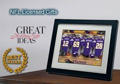 Personalized gifts for sports fans - locker jerseys gift for only $35.00.    Personalize with whatever you want.