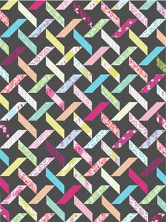 Diamond Tread PDF Pattern - Freshly Pieced Quilt Patterns - 1