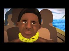35 min. animated story of slave trade to Barbados /kidnapping/Middle Passage