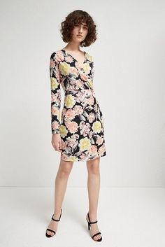 be64662c340 Enoshima Jersey Wrap Dress | Dresses | French Connection Usa Wrap Dress  Floral, French Connection