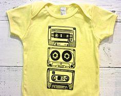 cassette tape onsie – Etsy