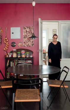 Sala de jantar: mesas redondas