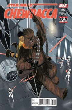 *High Grade* (W) Gerry Duggan (A/CA) Phil Noto • Chewbacca & Zarro face their final challenge...the coming of the Empire! • But No Wookiee, No Cry-they're up for it! • This is one walking carpet who's