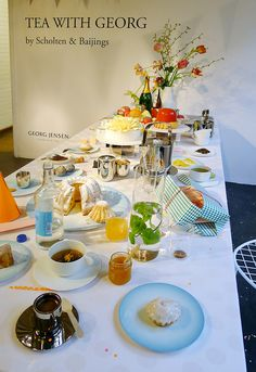 Spazio Rossana Orlandi: Tea with Georg collection by Scholten & Baijings for Georg Jensen