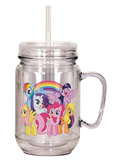 Spoontiques 17891 My Little Pony Mason Jar Multicolor My Little Pony Clothes, My Little Pony Dolls, Little Pony Cake, Little Girl Toys, Toys For Girls, Kids Toys, Hello Kitty, My Little Pony Bedroom, Minnie Mouse Cookies