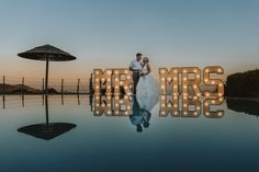 MR & MRS Lights at Panorama Villa Yacht Wedding, Destination Wedding, Dream Wedding, Wedding Stuff, Wedding Gallery, Wedding Photos, Cyprus Paphos, Underwater Wedding, Cyprus Wedding