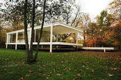Clássicos da Arquitetura: Casa Farnsworth,© Greg Robbins