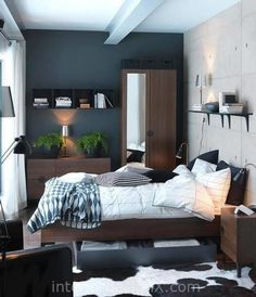 30 Small Bedroom Interior Designs Created to Enlargen Your Space Luxury Interior…