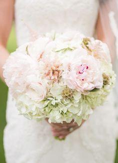 Jennifer Yarbro Photography; Elegant blush wedding bouquet; Featured Photographer: Jennifer Yarbro Photography