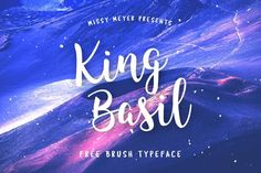 Here is the top 40 free brush fonts for graphic design artwork and design projects. All are free and available for commercial use. Best Free Script Fonts, Free Cursive Fonts, Hand Lettering Fonts, Handwriting Fonts, Typography Fonts, Calligraphy Fonts, Font Free, Fun Fonts, Script Typeface