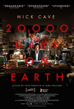 '20,000 Days On Earth' Gets a Pleasantly Chaotic Poster Featuring Nick Cave|Filmmakers,FilmIndustry,FilmFestivals, Awards & Movie Reviews | Indiewire
