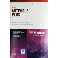 Mcafee Authorized Antivirus Plus 1PCs 1Yr 2014 /Installs 2016 Free. Physical item - Not emailed key Once you enter key at the link on the card it will install 2016 Antivirus 1PC and 2017 when released This is Mcafee Antivirus 2014 Retail packaged Product key card.   Our powerful combination of performance, accuracy, and reinforcing protections keeps criminals away from your PC and data.   NEW Unobtrusive, High Speed Scanning Engine—From startup to on-access scans, get high performance to…