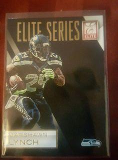 2015 Donruss Elite Football Marshawn Lynch #8 Seattle Seahawks in Sports Mem, Cards & Fan Shop, Cards, Football   eBay