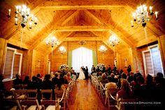 Barnsley Resort has indoor ceremony venues as well