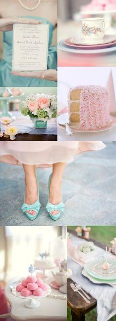 Light pink and blue wedding inspiration - except do bright pink Wedding Shoes, Wedding Blog, Wedding Stuff, Our Wedding, Dream Wedding, Cute Wedding Ideas, Perfect Wedding, Wedding Inspiration, Ice Cream Wedding