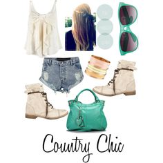 """Country Chic"" by gigi-highfashioned on Polyvore"