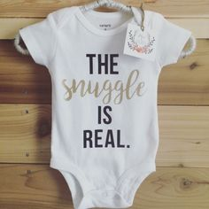 The Snuggle is Real Onesie - Hospital Outfit - Baby Boy, Baby Girl, Trendy Baby Clothes, Custom Onesie by eliseandelliot on Etsy https://www.etsy.com/listing/295098801/the-snuggle-is-real-onesie-hospital