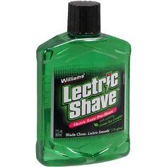 Original 3 Fl Oz 3 Pack Fine Williams Lectric Shave Electric Razor Pre-shave Latest Technology