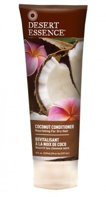 Desert Essence Coconut Conditioner - my all-time favourite vegan and cruelty-free curly hair conditoner