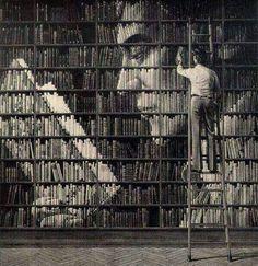 Book Art - visual plane