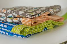 make it perfect: .Sewing for baby: Baby Shower blankets.