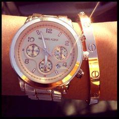 jewels gold watch michael kors