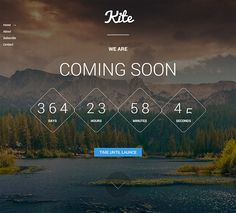 30 Free Under Construction & Coming Soon Website Templates 2016
