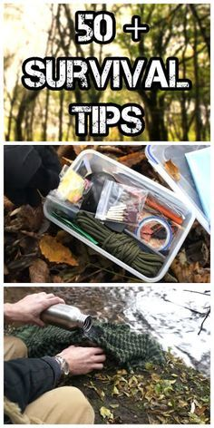 50+ Wilderness Survival Tips | Handy & Homemade