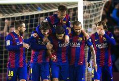 Barcelona 5 x 0 Elche Crise? Que crise?