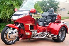 Motorcycle Trike Picture Of A 1993 Honda Gold Wing Se Special Edition W Conversion