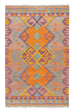 Featuring primitive sketches and warm, earthy hues, our Rojo Rug makes a stunning Southwestern statement. Added bonus: a touch of fringe.