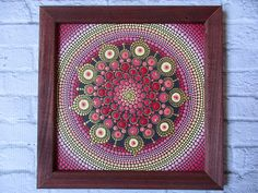 ORIGINAL Bright mandala of love a great gift for any