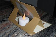 Carolyn's Card Creations - what a fun idea