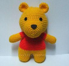 Winnie the Pooh - Handmade Disney Amigurumi crochet