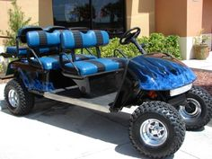 Image result for reesored souped up golf cart. Inspiration Stone piece from the racetrack