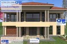 RDM5 House Plan No W1728 All Design, House Design, Flat Roof House, Port Elizabeth, Site Plans, Junho, Garage Plans, House Floor Plans, Home Collections