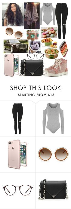 """Paris"" by bethiestyles ❤ liked on Polyvore featuring beauty, Topshop, WearAll, Chloé, Alexander Wang, Entree and DK"